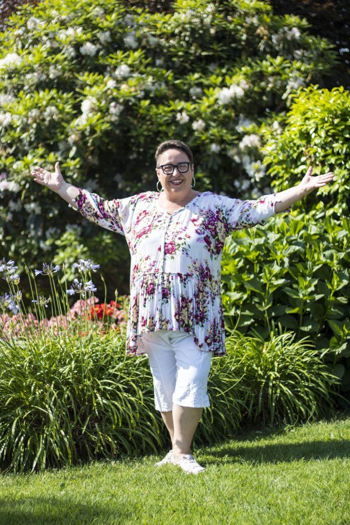 Sandra in Garden