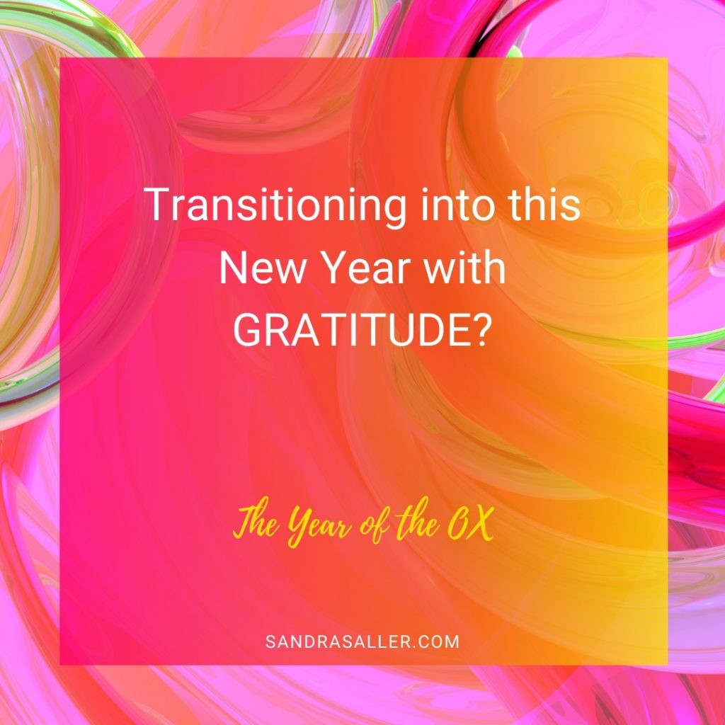 Transitioning with Gratitude